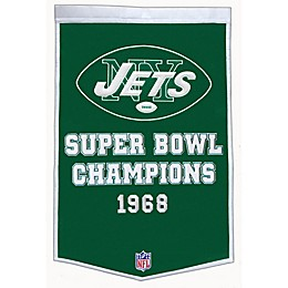 NFL New York Jets Dynasty Banner