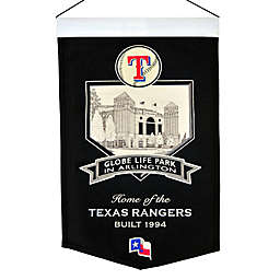 MLB Texas Rangers Stadium Banner