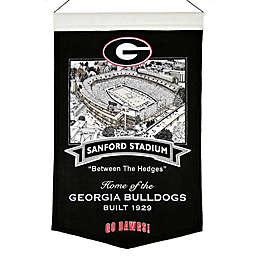 University of Georgia Stadium Banner
