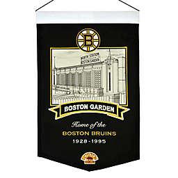 NHL Boston Bruins Boston Garden Stadium Banner