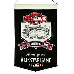MLB Cincinnati Reds 2015 All Star Game Stadium Banner