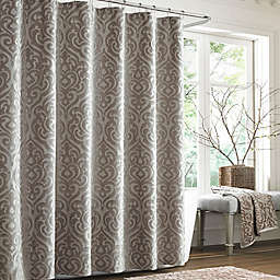 J. Queen New York™  Sicily Pearl Shower Curtain in Pearl