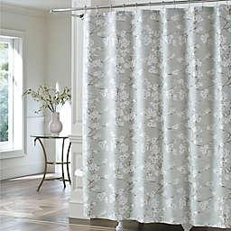J Queen New Yorktrade Mika Shower Curtain In Sea Foam