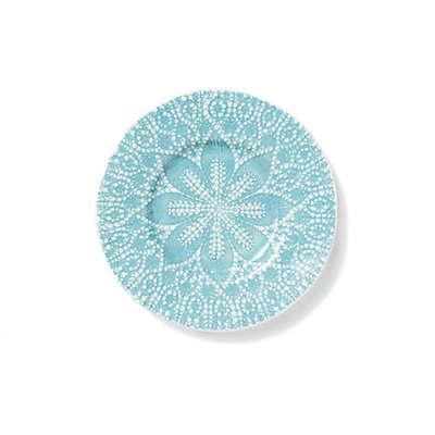 viva by VIETRI Lace Salad Plate in Aqua