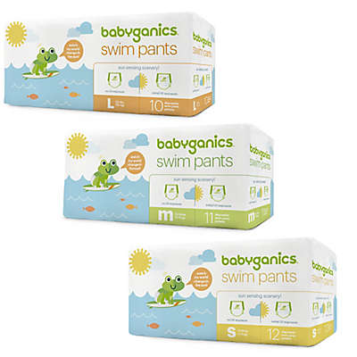 Babyganics® Color Changing Disposable Swim Diapers