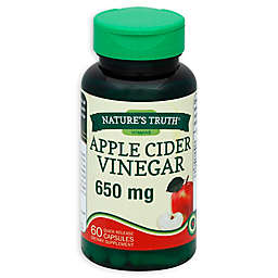 Nature's Truth® 60-Count Apple Cider Vinegar 600 mg Capsules