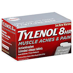Tylenol® 100-Count 8HR Muscle Aches & Pain Extended-Release Caplets