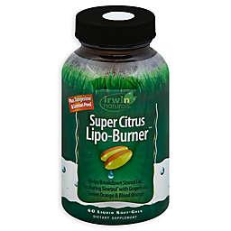 Irwin Naturals® 60-Count Super Citrus Lipo Burner Liquid Softgels