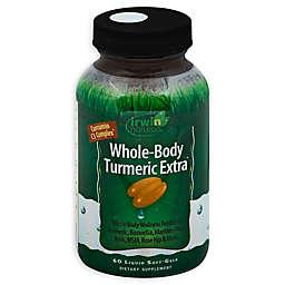 Irwin Naturals® 60-Count Whole Body Turmeric Extra Liquid Softgels