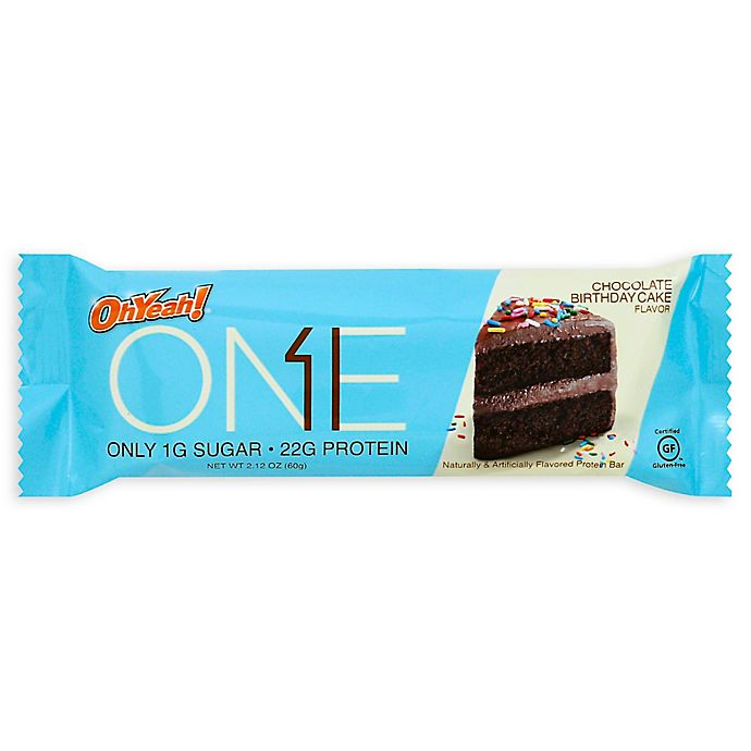 One Bar In Chocolate Birthday Cake