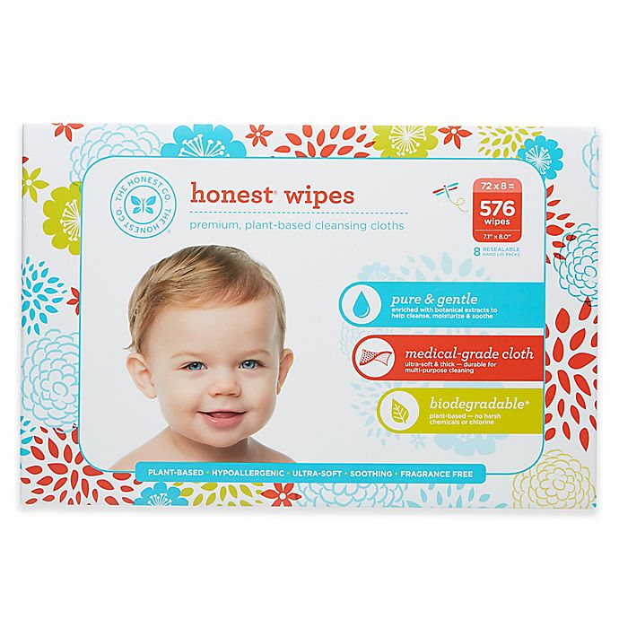Alternate image 1 for Honest 576-Count Wipes