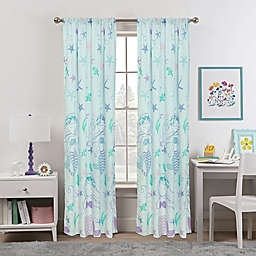 Kidz Mix Mystical Mermaid 84-Inch Window Curtain Panel Pair in Blue