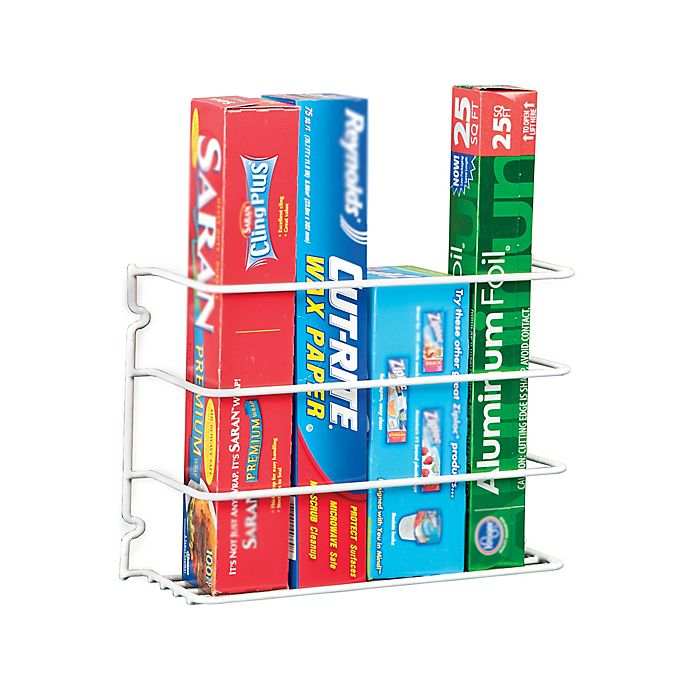 Alternate image 1 for 3-Tier Cabinet Wire Rack in White