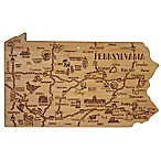 Totally Bamboo Destination Pennsylvania Cutting/Serving Board