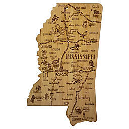 Totally Bamboo® Mississippi Destination Cutting Board