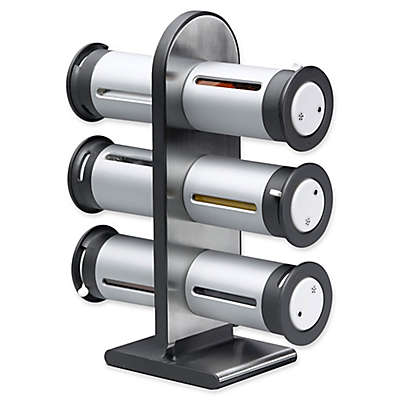 Honey-Can-Do® Zero Gravity™ 6-Canister Magnetic Spice Rack