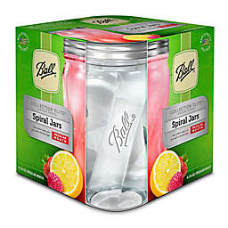 Ball® Glass Regular Mouth Spiral Jars (Set of 4)