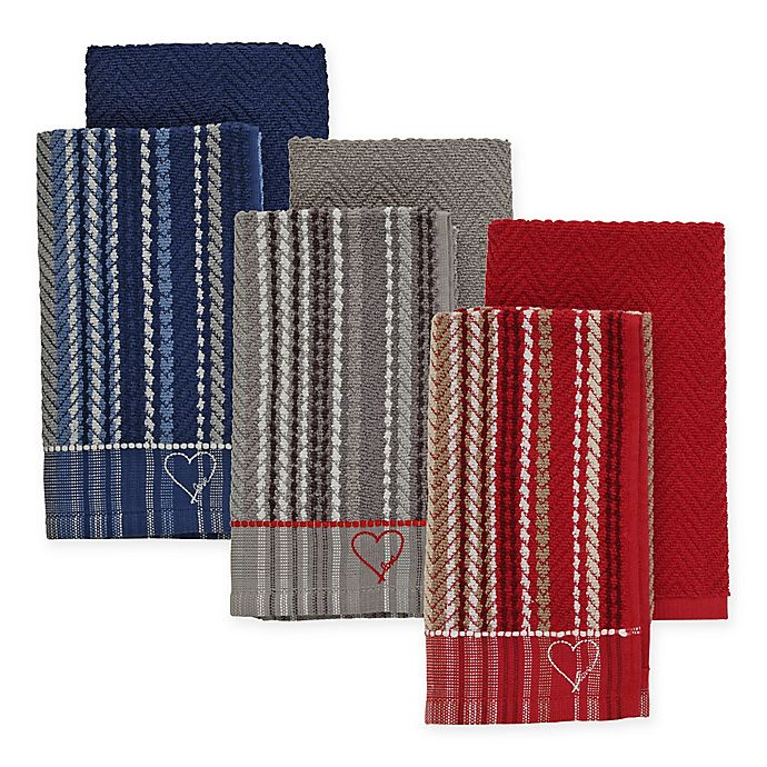 Alternate image 1 for ED Ellen DeGeneres™ 2-Pack Kitchen Towels Set