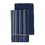 ED Ellen DeGeneres™ 2-Pack Kitchen Towels Set in Blue