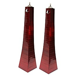 Outdoor Interiors® Large Pyramid Torches (Set of 2)