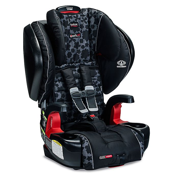 Alternate image 1 for BRITAX Pinnacle ClickTight™ XE Series Harness-2-Booster Seat with Mat and Shades in Kate