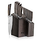 Cangshan A Series 16-Piece Knife Block Set in Black