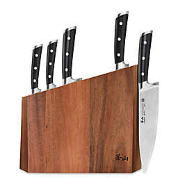 Cangshan S Series 6-Piece Knife and Block Set