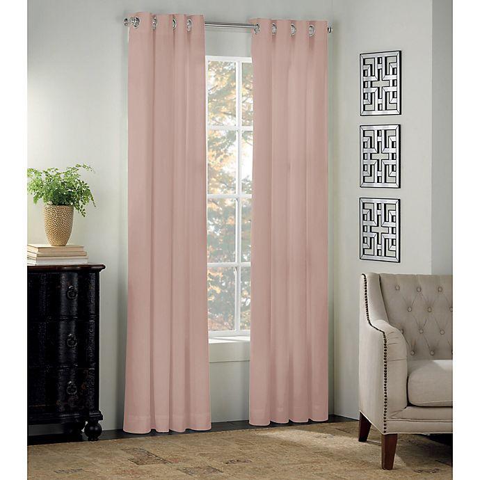 Alternate image 1 for Newport Grommet Window Curtain Panel