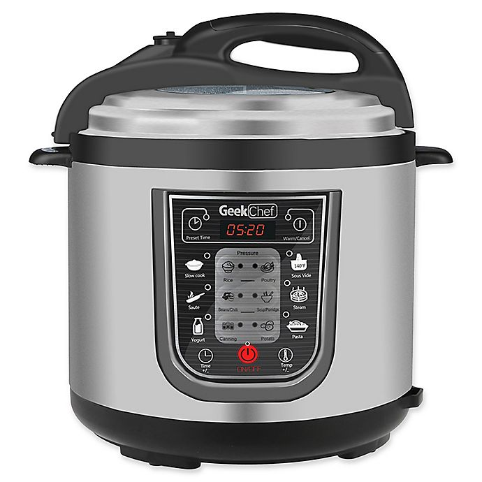 Alternate image 1 for Geek Chef 11-in-1 Multi-Functional Cooker