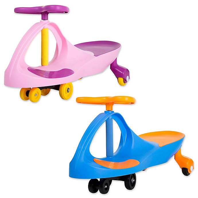 Alternate image 1 for Lil' Rider Wiggle Ride-On Car