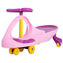 Lil' Rider Wiggle Ride-On Car in Pink/Purple