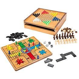 Trademark Games 7-in-1 Combo Game Set