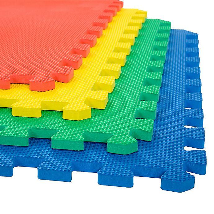 Trademark Games Interlocking Foam Floor Mats Set Of 4 Buybuy Baby