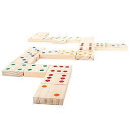 Trademark Games Giant Wooden Dominoes Set