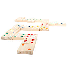 Trademark Games Giant Wooden Dominoes Set