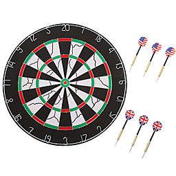 Double-Sided Flocked Regulation Size Dart Board Trademark Games