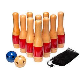 Trademark Games Wooden Lawn Bowling Set