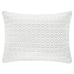 Piper & Wright Ansonia 12-Inch x 16-Inch Boudoir Throw Pillow in Ivory