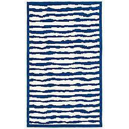Safavieh Kids® Wave Stripe Rug in Blue