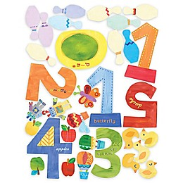 Wallies Counting Numbers Peel & Stick Wall Decals