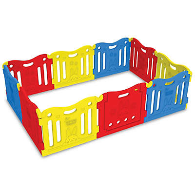 BABY CARE™ Hoobei Playgate in Red/Yellow