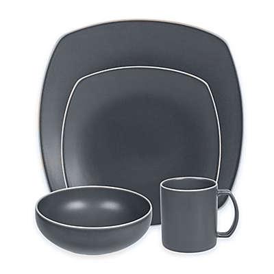 Artisanal Kitchen Supply® Edge 16-Piece Dinnerware Set in Slate Blue