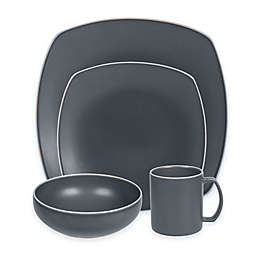 Artisanal Kitchen Supply® Edge 16-Piece Dinnerware Set in Slate Blue