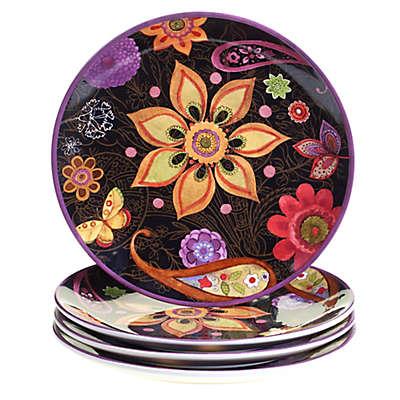 Certified International Coloratura by Sue Zipkin Dinner Plates (Set of 4)