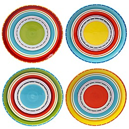 Certified International Mariachi Dinner Plates (Set 4)