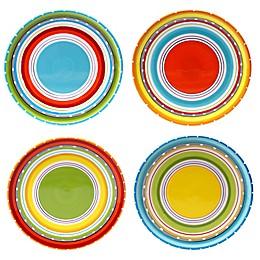 Certified International Mariachi Salad Plates (Set 4)