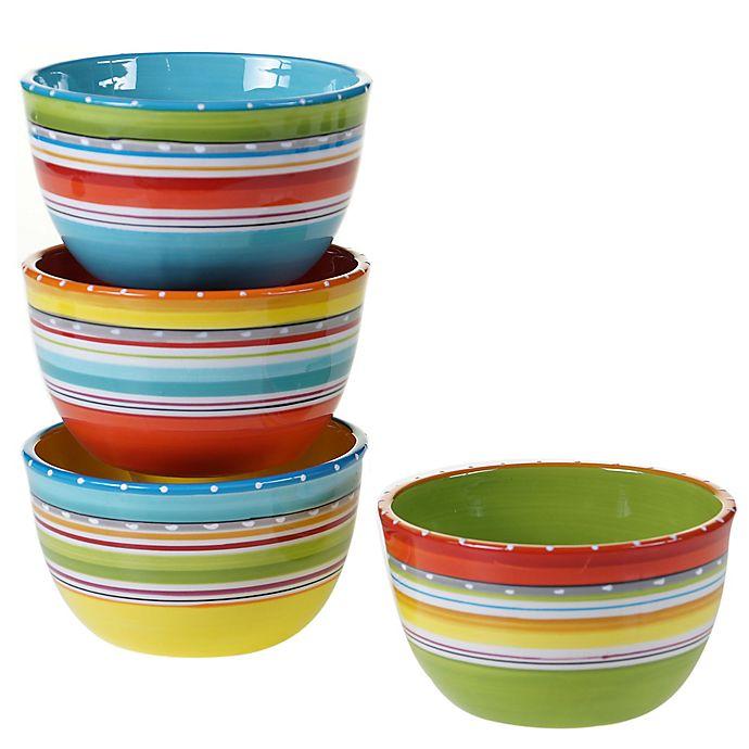 Alternate image 1 for Certified International Mariachi Cereal Bowls (Set 4)