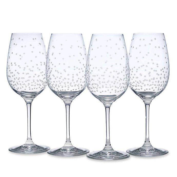 Mikasa 174 Celebrations Wine Glasses Set Of 4 Bed Bath