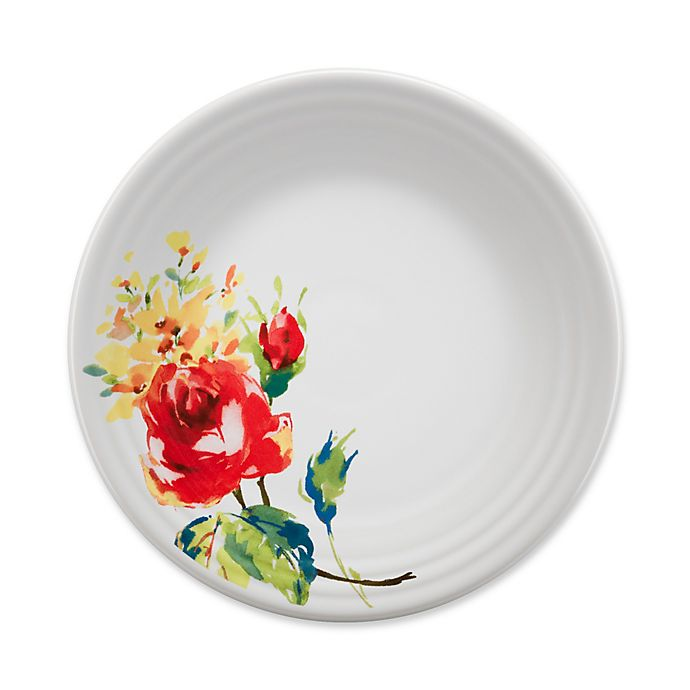 Alternate image 1 for Fiesta® Floral Bouquet Luncheon Plate