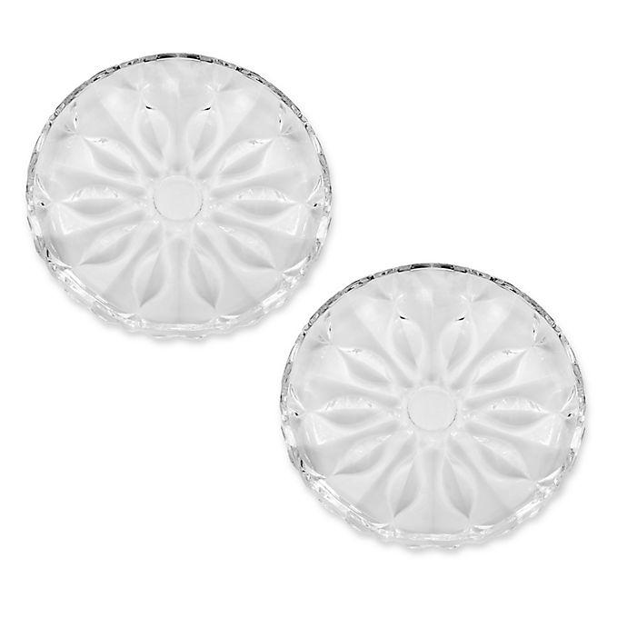 Alternate image 1 for Mikasa® Celebrations Blossom Appetizer Plates (Set of 4)